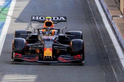 Warum Sergio Perez aus der Boxengasse ins Rennen gehen muss