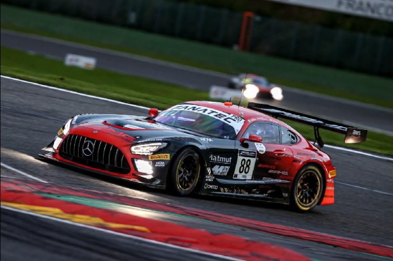 24h Spa 2021: Mercedes-AMG im Quali vorn, Drama um Top-Audi von WRT