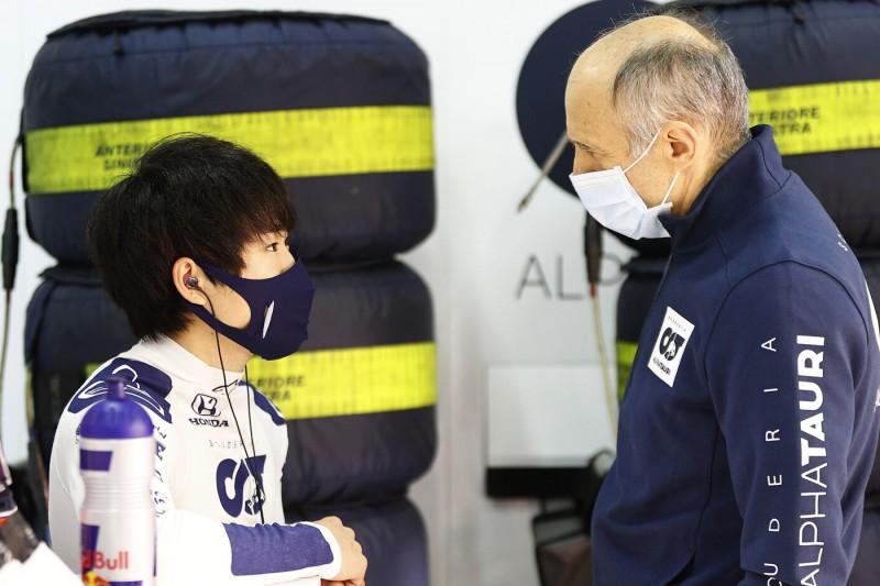 """Franz Tost will beide Fahrer behalten: """"Keine Alternativen"""" zu Yuki Tsunoda"""