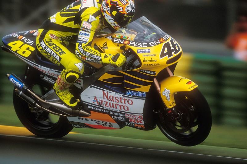 """""""Brutal und schnell"""": Valentino Rossi blickt auf sein 500er-Debüt zurück"""