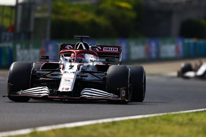 Ampelsystem schuld: Wie es zur Kollision Räikkönen-Masepin in Ungarn kam