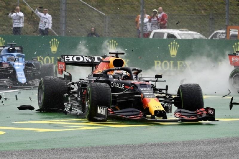 Startcrash in Ungarn: So groß war der Schaden an Verstappens Red Bull