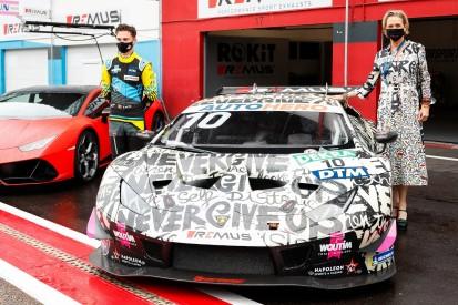 T3-Team enthüllt DTM-Art-Car: Belgische Prinzessin designte Muths Lamborghini