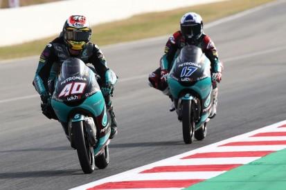 Moto3 FT2 Spielberg 1: Doppelspitze von Petronas-Sprinta, Max Kofler Letzter