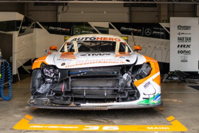Startcrash in Zolder: GetSpeed zieht Mercedes-AMG von Arjun Maini zurück