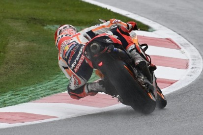 MotoGP Warm-up Spielberg 1: Marc Marquez auf nasser Strecke Schnellster