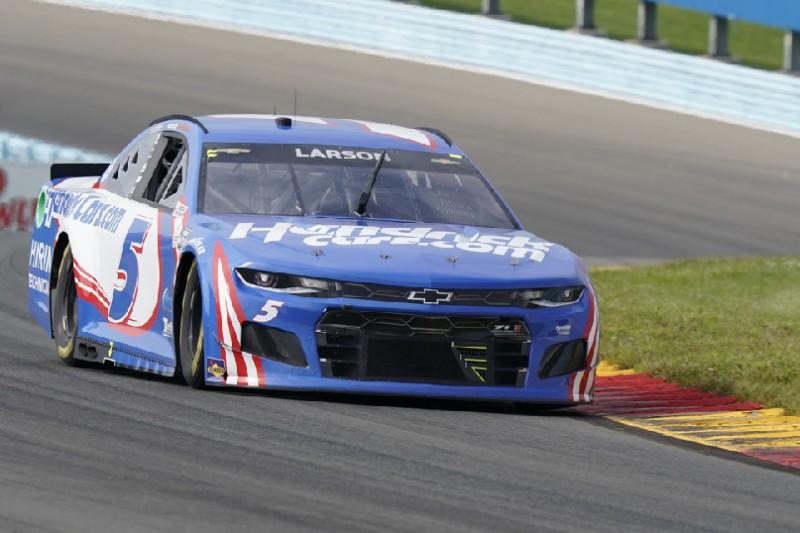 NASCAR Watkins Glen: Kyle Larson hält aufholenden Chase Elliott auf Distanz
