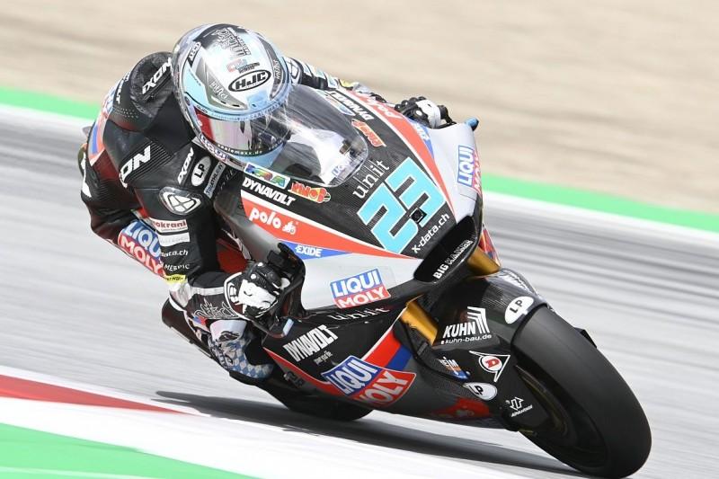 Moto2 FT1 Spielberg 2: Ogura holt die Bestzeit, Schrötter wird Dritter