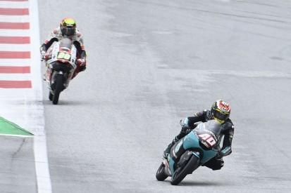 Moto3 FT2 Spielberg 2: Regen beendet Zeitenjagd vorzeitig, Binder bleibt vorn