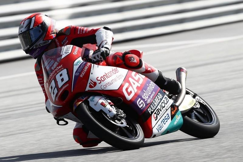 Moto3 FT3 Spielberg 2: Rookie Guevara toppt chaotische Session