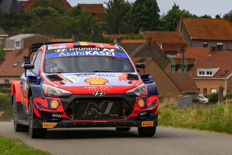 WRC Rallye Ypern 2021: Neuville und Breen kämpfen um die Spitze