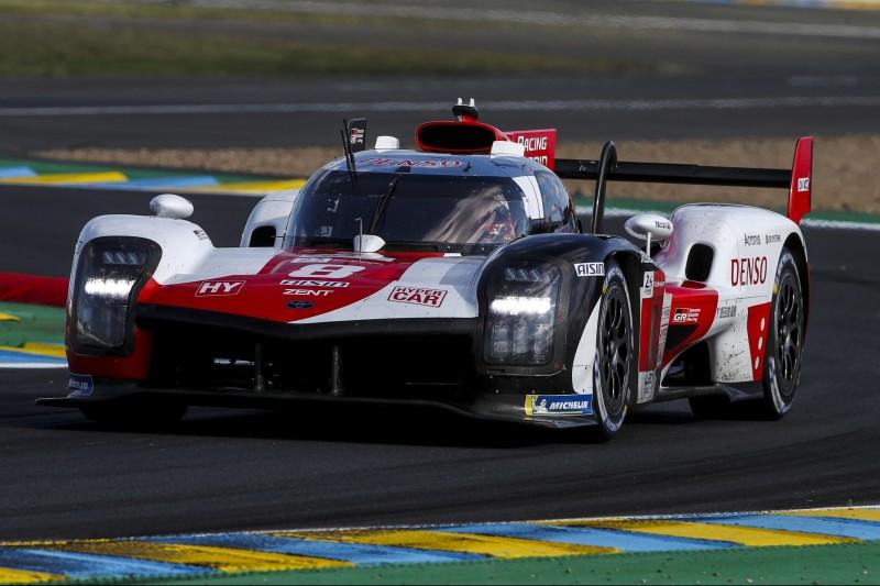 24h Le Mans 2021: Toyota hält leichten Vorsprung im Nachttraining