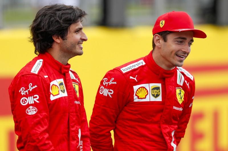 """Carlos Sainz: Gutes Verhältnis zu Leclerc für ihn """"ganz natürlich"""""""