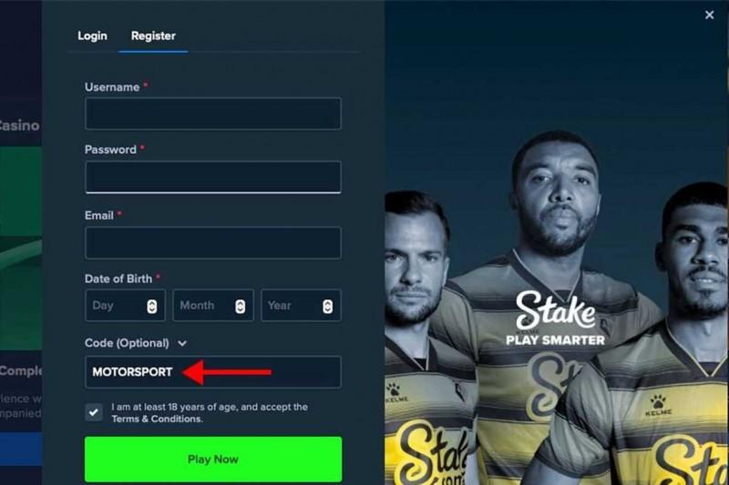 Jetzt bei Stake.com anmelden und exklusiven Bonus sichern!