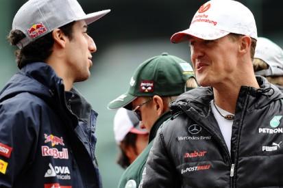 """Formel-1-Liveticker: Ricciardo: Michael Schumacher """"der Gott dieses Sports"""""""