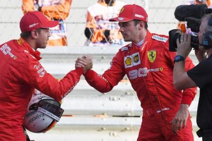Leclerc: An guten Tagen war Vettel fast nicht zu schlagen