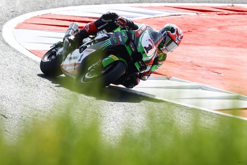 WSBK Navarra: Kawasaki, Ducati und BMW in Reihe eins, Jonas Folger auf P14