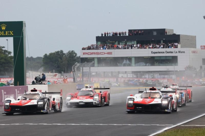 24h Le Mans 2021: Turbulente Startphase mit Regen, Unfällen und SC