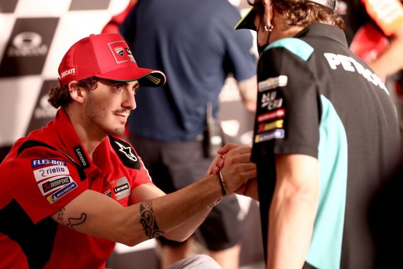 Francesco Bagnaia: Rossi gibt keine Ratschläge, wie man Rennen gewinnt