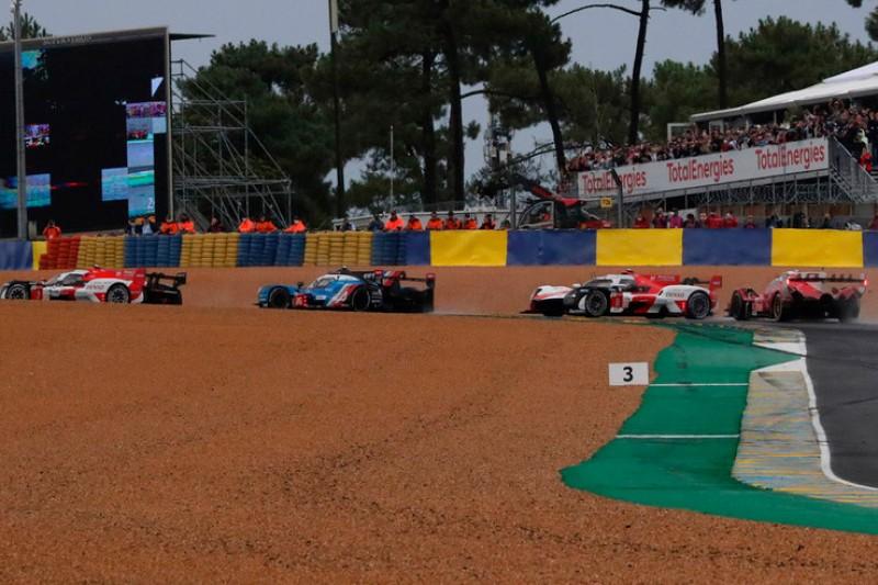 Chaos beim Le-Mans-Start: Toyota abgeschossen, Ferrari kracht in Corvette
