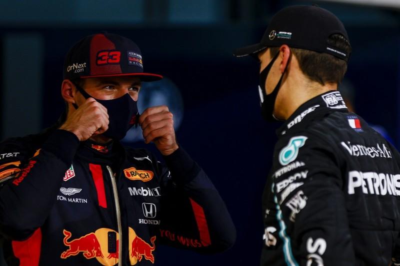 Max Verstappen: Russell kann nicht ewig bei Williams bleiben