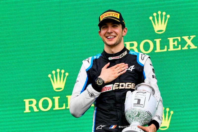 Esteban Ocon: Erste Nacht als Grand-Prix-Sieger keine Minute geschlafen