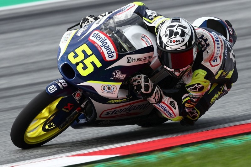 Moto3 Silverstone FT1: Routinier Romano Fenati dominiert den Auftakt