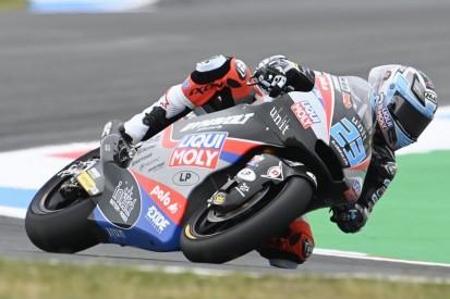 Moto2 Silverstone FT1: Bestzeit Jorge Navarro, Defekt bei Marcel Schrötter