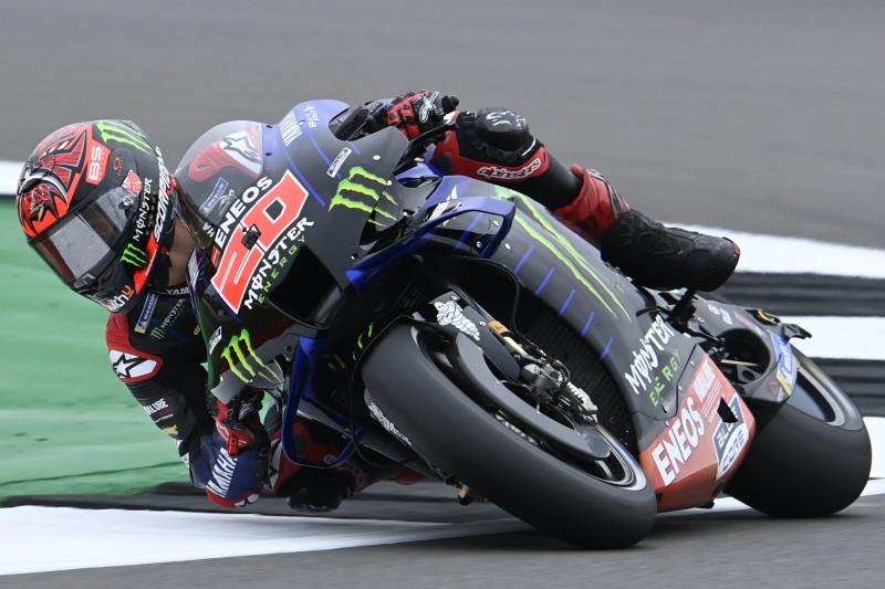 MotoGP Silverstone FT2: Quartararo dominiert trotz Sturz die Konkurrenz