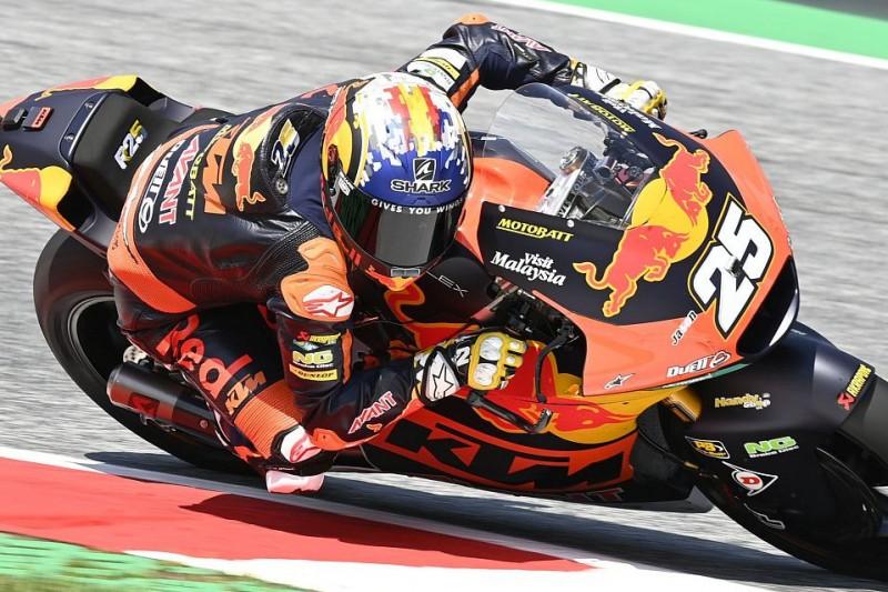 Moto2 Silverstone FT2: Raul Fernandez vorn, Marcel Schrötter nur auf P20