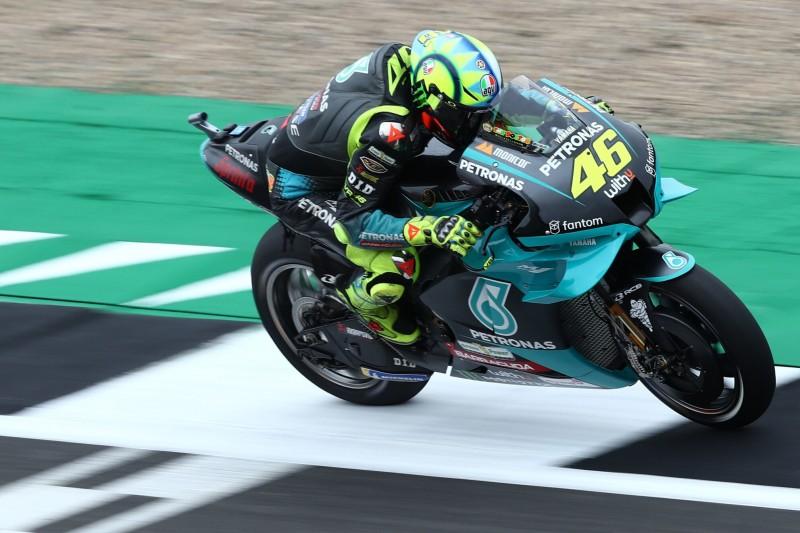 """Valentino Rossi in den Top 10: """"Silverstone eine großartige Strecke"""""""