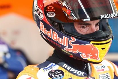 Schmutz im Auge: Marc Marquez musste nach FT1-Crash ins Krankenhaus