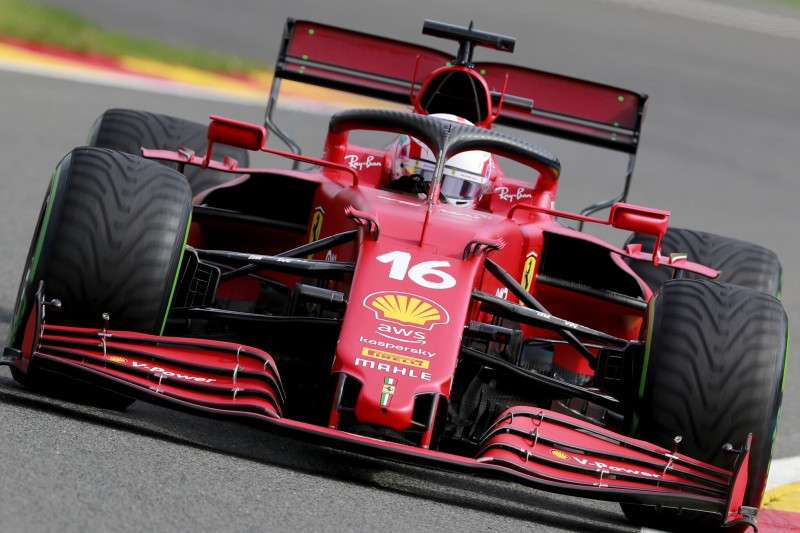 Charles Leclerc: Chassiswechsel bei Ferrari nach Unfall in Spa
