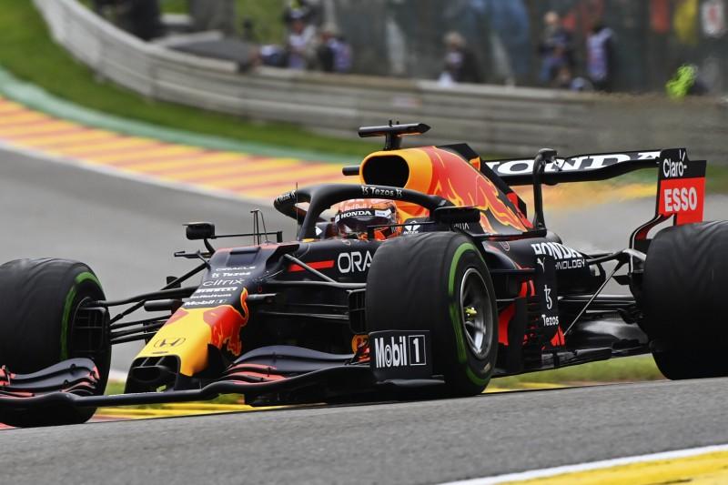 F1 Spa 2021: Regen im Abschlusstraining, Verstappen Schnellster