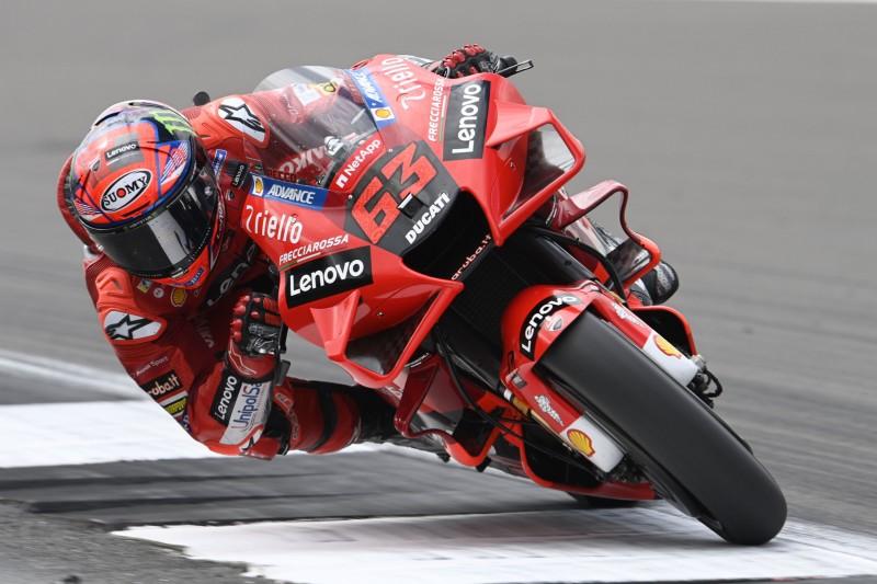 Ducati in Silverstone: Bagnaia happy, Miller frustriert