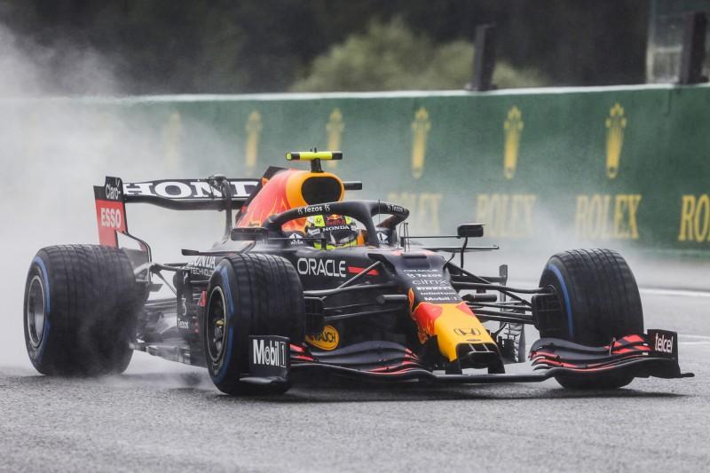 Crash in Out-Lap: Sergio Perez kann in Spa nicht starten!