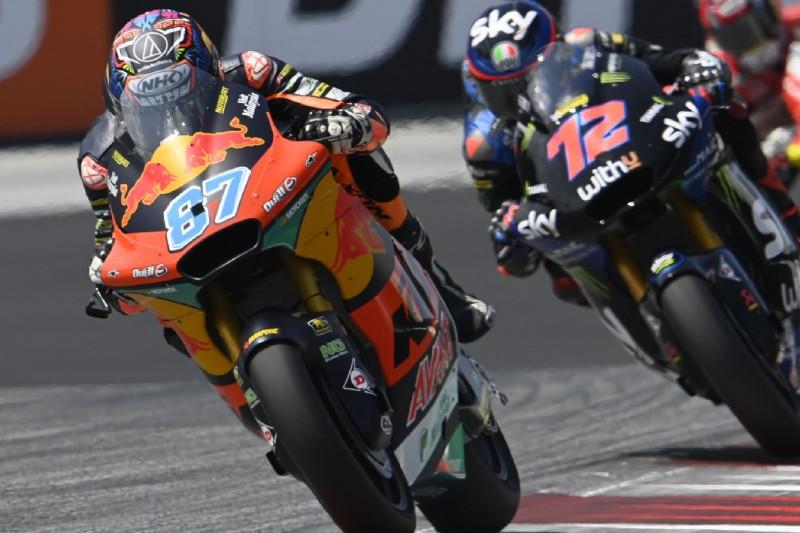 Moto2-Rennen in Silverstone: Gardner besiegt Bezzecchi in engem Duell