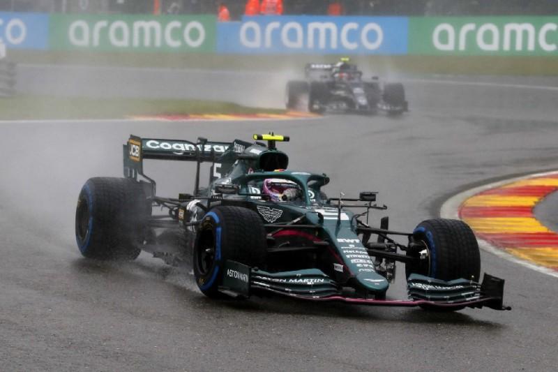 """Sebastian Vettel rechtfertigt Abbruch: """"Man sieht einfach nichts"""""""