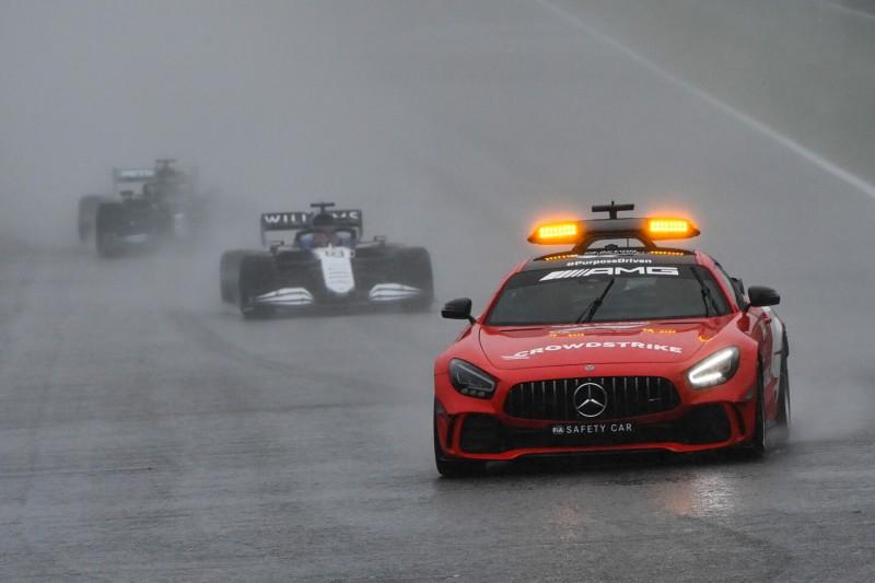 Formel-1-Boss: Dauerhaft starker Regen war gar nicht vorhergesagt