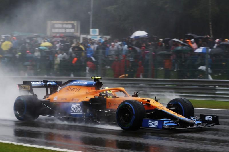 Trotz Qualifying-Crash: Norris muss Motor nicht abschreiben