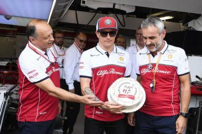 """Frederic Vasseur: """"Es gibt keinen anderen Fahrer wie Kimi"""""""
