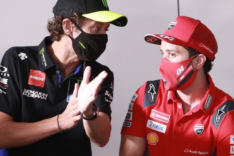 """Valentino Rossi: """"Bin glücklich, dass Dovi mein Teamkollege wird"""""""