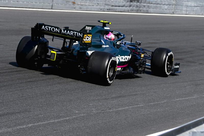 F1 Zandvoort 2021: Kaum Trainingsaction wegen Vettel-Motorschaden