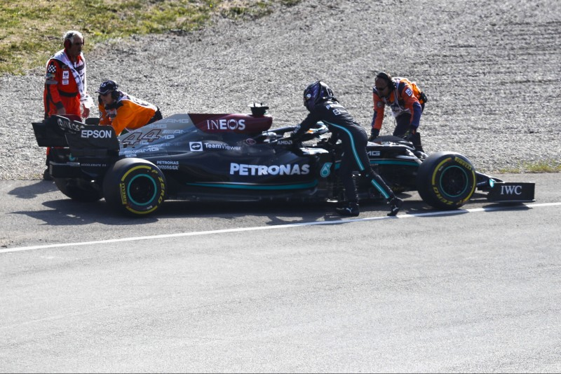 Trotz Mercedes-Defekten: Keine Leistungsbremse für das Rennen