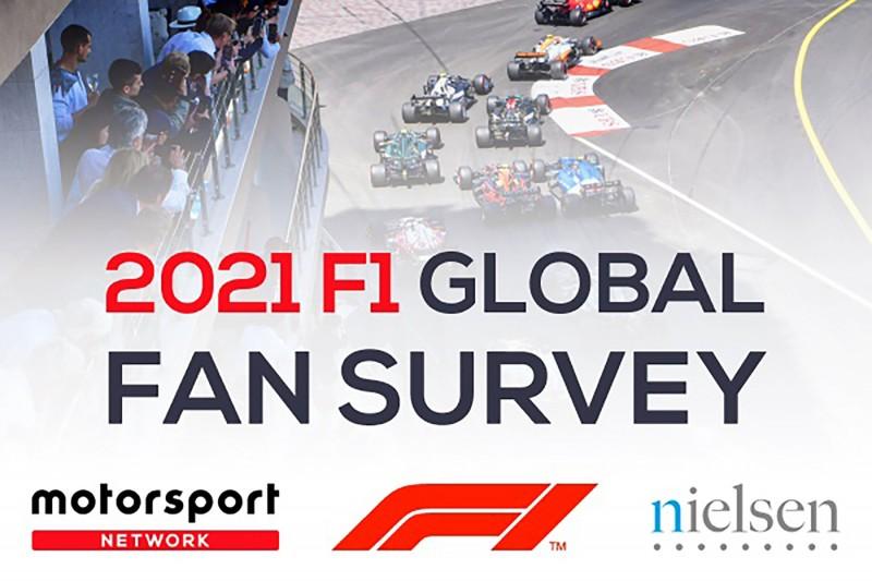 Formel 1 und Motorsport Network starten weltgrößte F1-Fan-Umfrage
