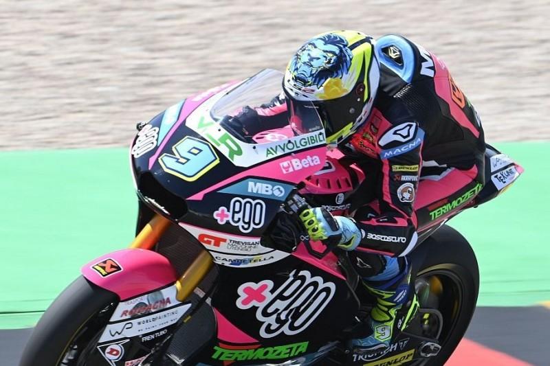 Moto2 Aragon FT1: Navarro verdrängt Lowes von der Spitze