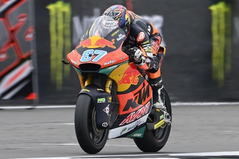 Moto2 Aragon FT2: Gardner mit knapper Bestzeit, Schrötter im Mittelfeld