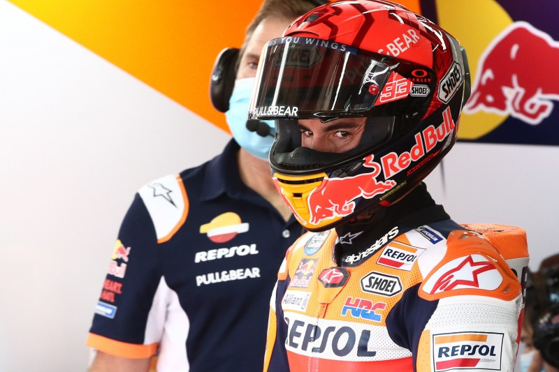 Honda: Marquez ärgert sich über Sturz - Espargaro mit neuem Chassis