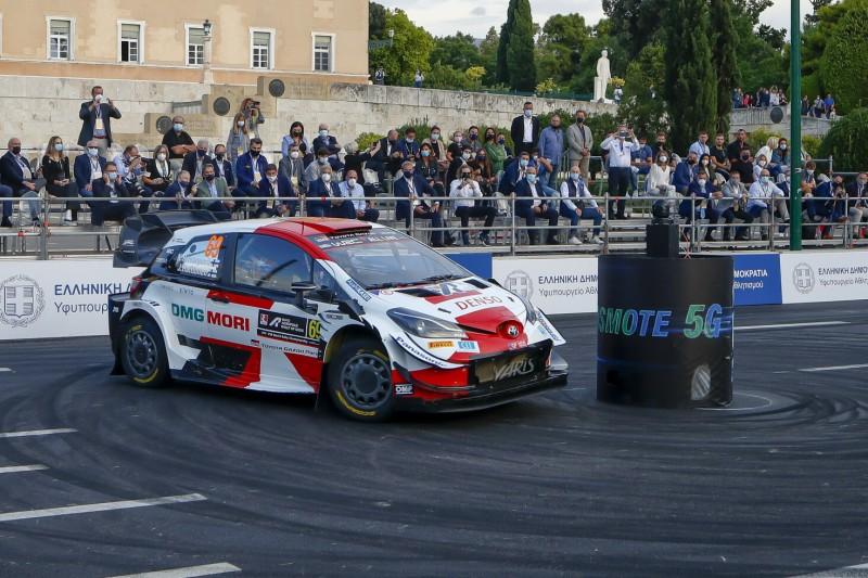 WRC Akropolis-Rallye Griechenland: Rovanperä knapp vor Tänak und Ogier