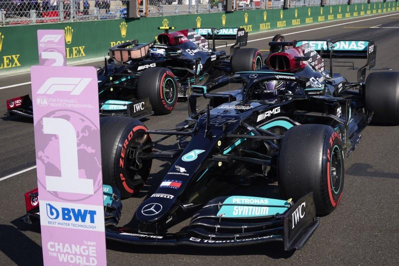 """Mercedes """"vermutlich"""" mit Stallregie im Sprintqualifying"""